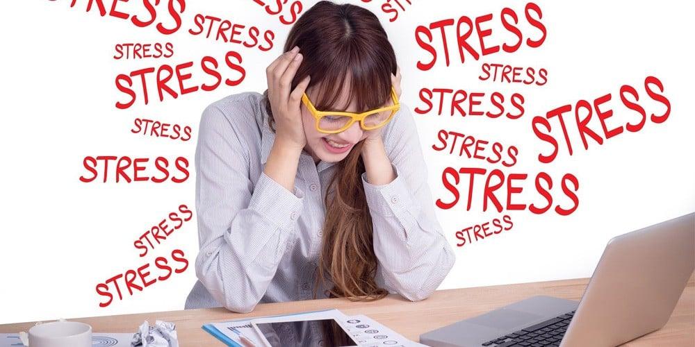 Stress, căng thẳng làm giảm quá trình sản sinh collagen tự nhiên